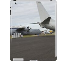 US Air Force and US Navy planes on show at the Futures Day & FAB Friday at Farnborough International Airshow iPad Case/Skin