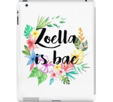 Zoella Is Bae iPad Case/Skin
