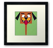 Cute Doggy Framed Print