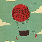 hot air balloon by Tess Smith-Roberts