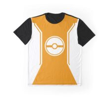 Pokemon Go Trainer Orange Graphic T-Shirt