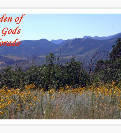 Garden of the Gods #13 Sticker