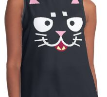 Cute Kitty Contrast Tank