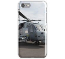 Agusta-westland AW159 Wildcat HMA2 helicopter  iPhone Case/Skin