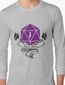 Critical Fail Roll Long Sleeve T-Shirt