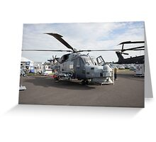 Agusta-westland AW159 Wildcat HMA2 helicopter  Greeting Card