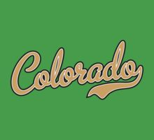 Colorado Script Font Gold by Carolina Swagger