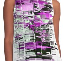 Purple Contrast Tank