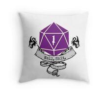 Critical Fail Roll Throw Pillow