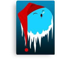 Santa Claus Planet Canvas Print
