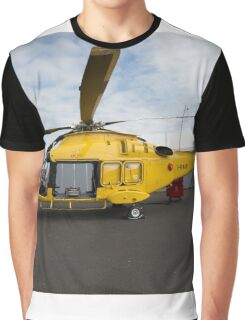 Agusta-Westland 189 helicopter  Graphic T-Shirt