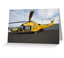 Agusta-Westland 189 helicopter  Greeting Card