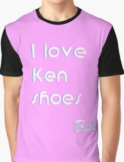 Barbie Ken shoes pink love Graphic T-Shirt