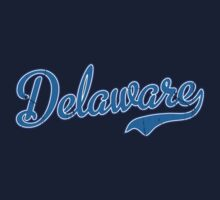 Delaware Script Light Blue by Carolina Swagger
