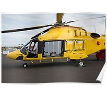 Agusta-Westland 189 helicopter  Poster
