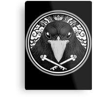 Storm Crow ! Metal Print