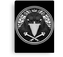 Storm Crow ! Canvas Print