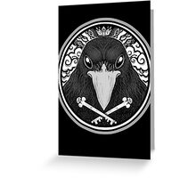 Storm Crow ! Greeting Card