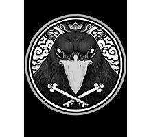 Storm Crow ! Photographic Print