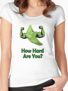 Metapod Used Harden Women's Fitted Scoop T-Shirt