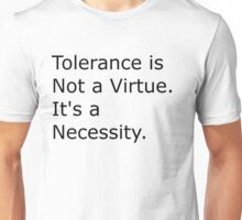 Deeper Meanings Tolerence Unisex T-Shirt