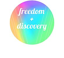 freedom + discovery Photographic Print