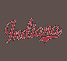 Indiana Script Red by Carolina Swagger