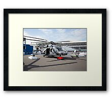 Agusta-Westland AW149 helicopter  Framed Print
