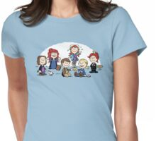 The Super-Nutural Girls Womens Fitted T-Shirt
