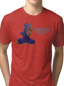 Sonic Sanic The Problem of Being Faster Than Light Tri-blend T-Shirt