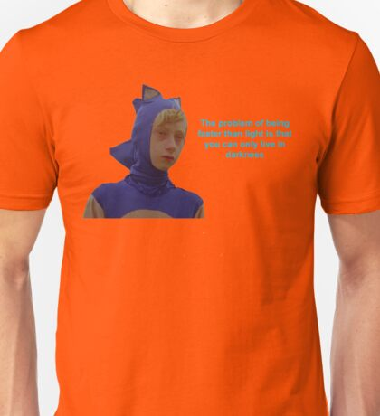 Sonic Sanic The Problem of Being Faster Than Light Unisex T-Shirt