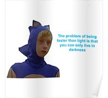 Sonic Sanic The Problem of Being Faster Than Light Poster