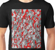 The letter matrix RED Unisex T-Shirt