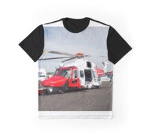 Coastguard rescue helicopter  Graphic T-Shirt