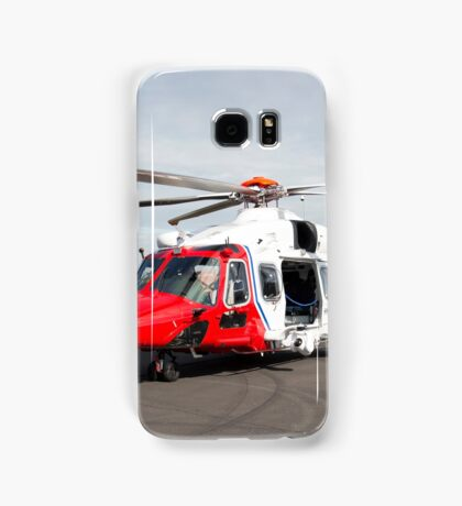 Coastguard rescue helicopter  Samsung Galaxy Case/Skin