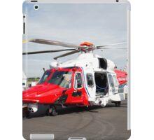 Coastguard rescue helicopter  iPad Case/Skin