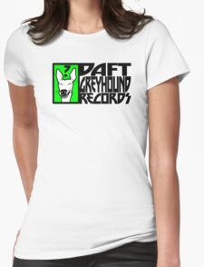 Daft Greyhound (Special order Light T-shirts) Womens Fitted T-Shirt