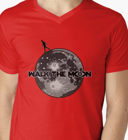 Walk the Moon Mens V-Neck T-Shirt