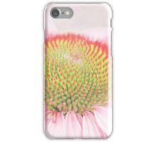 Echinacea macro iPhone Case/Skin