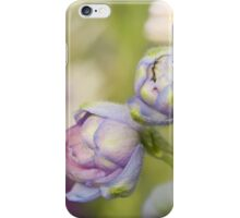Delphinium Day iPhone Case/Skin