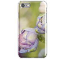 Delphinium Day iPhone Case/Skin