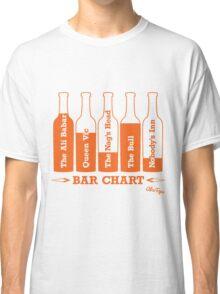 Bar Chart Classic T-Shirt