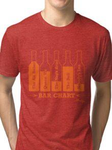 Bar Chart Tri-blend T-Shirt
