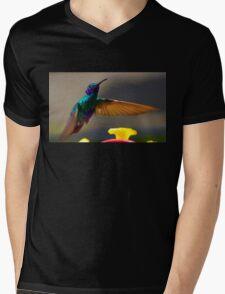 Tom Thumb Is A Sparkling Violetear Mens V-Neck T-Shirt