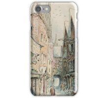 Beatrix Potter old English Street Illustration iPhone Case/Skin
