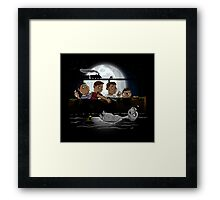 Stand By E.T. Framed Print