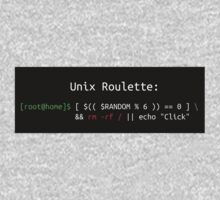 Unix Roulette Kids Tee