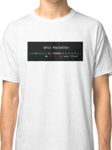 Unix Roulette Classic T-Shirt