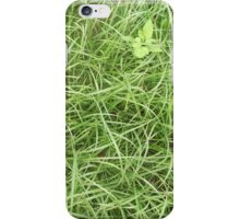 Grassy Abstraction iPhone Case/Skin