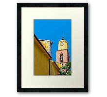 Notre-Dame Church in Saint-Tropez, France Framed Print